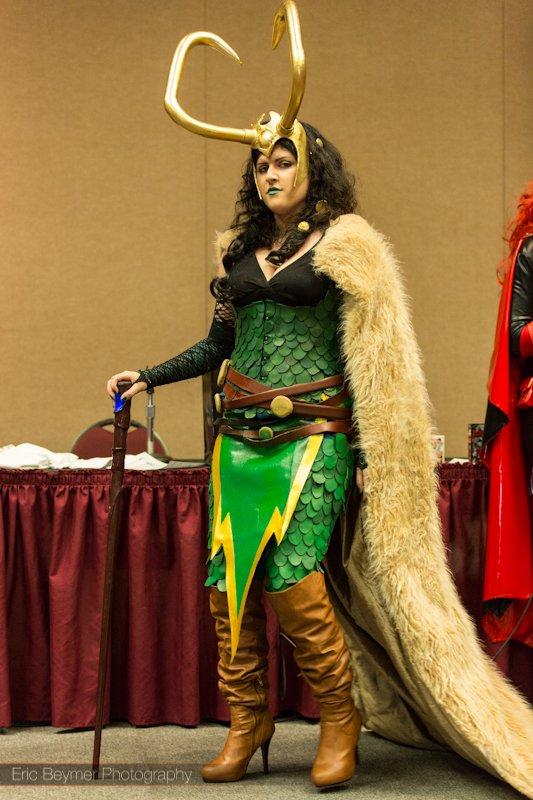Lady Loki @ Las Vegas Comic Expo 2012 – Picture by Eric Beymer