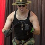 Sgt Slaughter @ Las Vegas Comic Expo 2012 – Picture by Eric Beymer