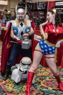 Thor, Stormstrooper and Wonder Woman @ Las Vegas Comic Expo 2012 – Picture by Eric Beymer