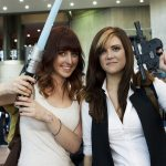 Lady Han Solo and Friend @ New York Comic Con 2012 (NYCC)