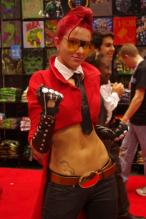 Crimson Viper - New York Comic Con 2012 - Picture by Aggressive Comix