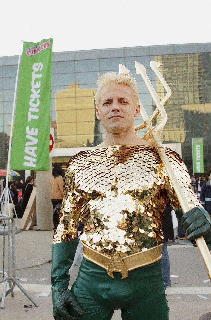 Aquaman @ New York Comic Con 2012 (NYCC)