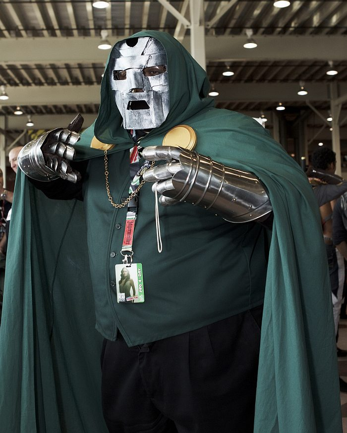Dr. Doom @ New York Comic Con 2012 (NYCC)