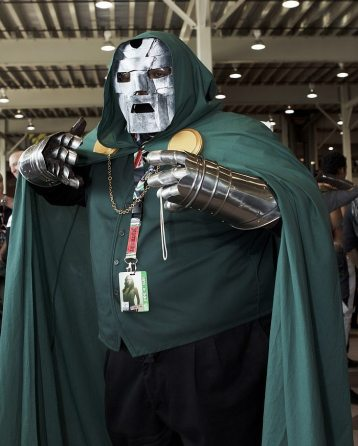 Dr. Doom @ New York Comic Con 2012 (NYCC)