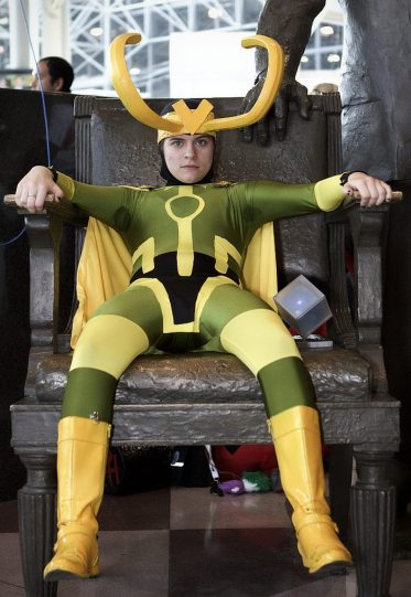 Loki @ New York Comic Con 2012 (NYCC)