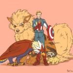 Avengers Pokemon – Captain America