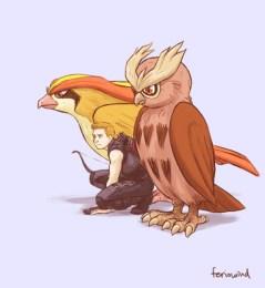 Avengers Pokemon – Hawkeye