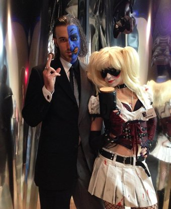 Grand H. and Friend - Two-Face and Harley Quinn