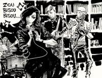 Mad Men Comic Style Zou Bisou Bisou