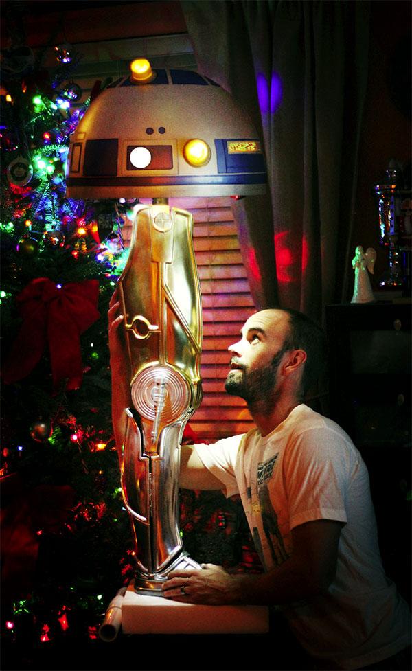 R2-C3PO Christmas Story Lamp