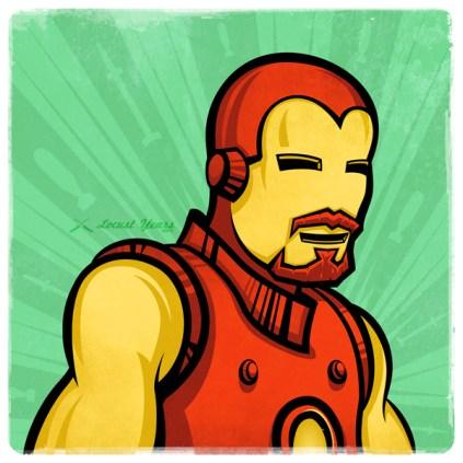 Superstaches – Iron Man