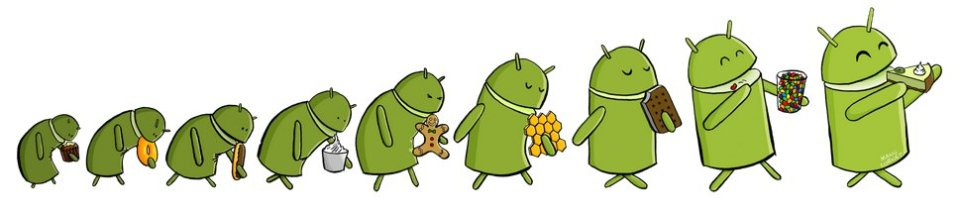 Android Evolution by Manu Cornet from bonkersworld.net