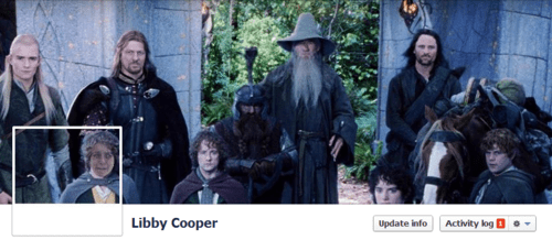 Libby Cooper LOTR