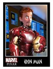 Pixar Iron Man