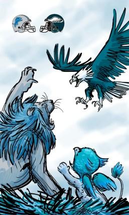 lions eagles