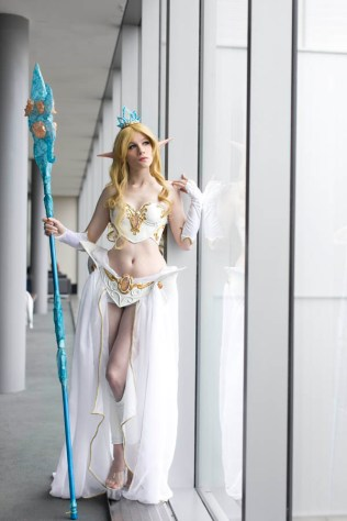 Janna from League of Legends - Pax East 2013 - Picture by Anna Fischer