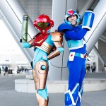 Samus Aran & Mega Man - Pax East 2013 - Picture by Anna Fischer