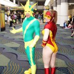 Electro and Jesse Quick - MegaCon 2013 - Picture submitted by Adam S.