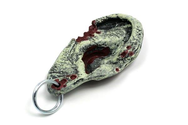 zombie-ear-keychain