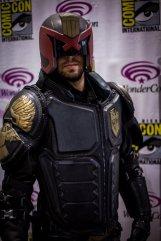 Judge Dredd - Picture by Mooshuu - WonderCon 2013