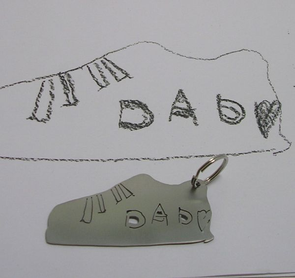 kid drawings keychains 2