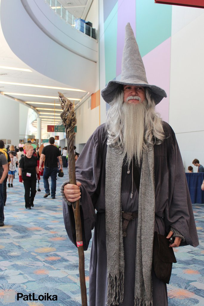 Gandalf - Picture by Pat Loika - WonderCon 2013