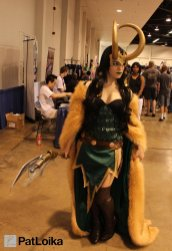 Loki - Picture by Pat Loika - WonderCon 2013