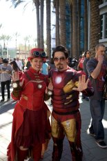 Iron Lady and Iron Man - Picture by The Suitcase Studio - WonderCon 2013