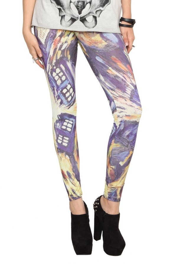 TARDIS leggings
