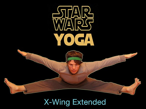 Star Wars Yoga Poses [Pictures]