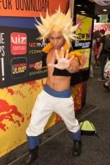 Gogeta (Dragon Ball Z) - San Diego Comic-Con (SDCC) 2013 (Day 4)