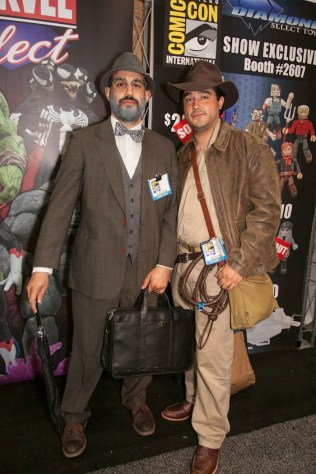 Professor Henry and Indiana Jones - San Diego Comic-Con (SDCC) 2013 (Day 4)