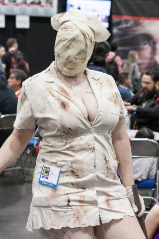 Silent Hill Nurse - San Diego Comic-Con (SDCC) 2013 (Day 3)