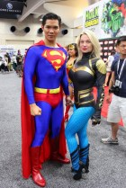 Superman and Friend (SDCC 2013) - Photography: Insidethemagic