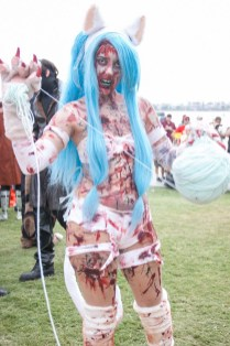Zombie Felicia (Darkstalkers) - San Diego Comic-Con (SDCC) 2013 (Day 3)