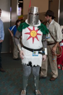 Solaire of Astora from Dark Souls - San Diego Comic-Con (SDCC) 2013 (Day 1)