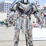 Silver Samurai Statue - San Diego Comic-Con (SDCC) 2013