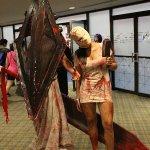 Pyramid Head and Silent Hill Nurse (Boston Comic Con 2013) - Picture by pullip-junk