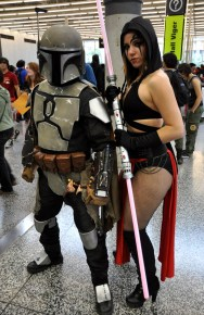 The Cosplay Quebec Duo - Montreal Comic Con 2013 - Picture by Geeks are Sexy