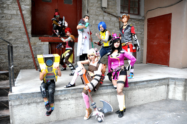 The Sparkling Potatoes Cosplay Group (Borderlands Photoshoot #3) - Montreal Comic Con 2013 - Picture by Geeks are Sexy