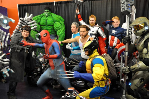Superhero Party - Montreal Comic Con 2013 - Picture by Geeks are Sexy