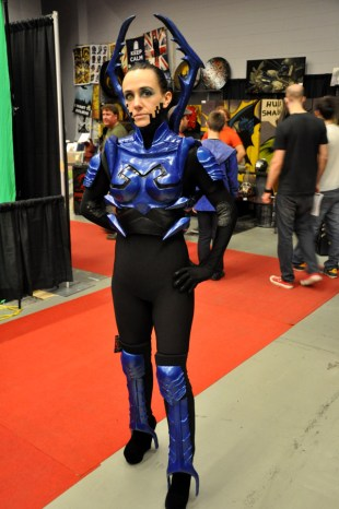 Blue Beetle - Montreal Comic Con 2013 - Picture by Geeks are Sexy