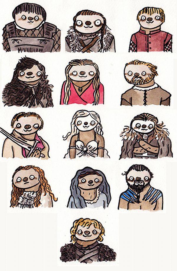 sloths-got