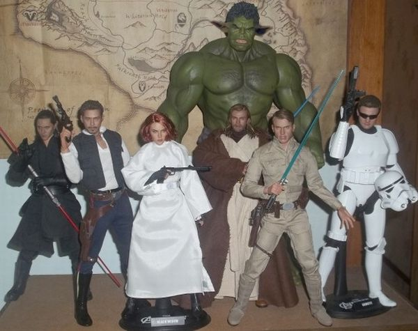 The Avengers-as-Star Wars Characters [Pic]