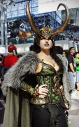 Loki - New York Comic Con (NYCC) 2013 - Geeks are Sexy