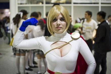 Power Girl - MCM London Comic-Con 2013