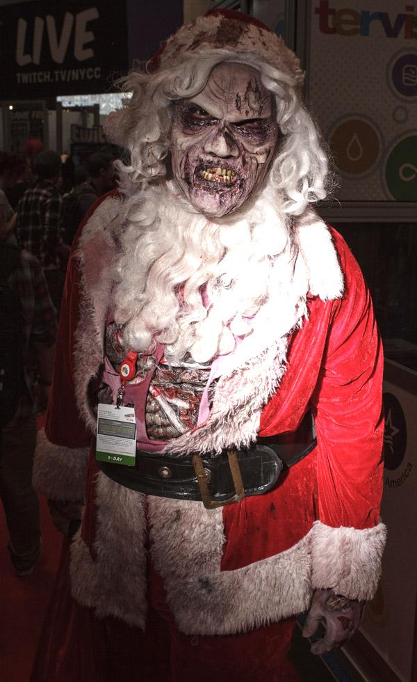 Zombie Santa – New York Comic Con (NYCC) 2013 - Geeks are Sexy