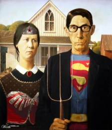 American Gothic Superheroes - Android004