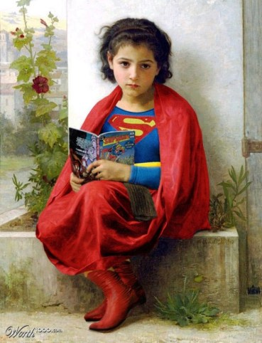 Little Supergirl -- Aards2