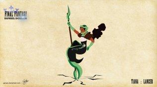 Tiana - Lancer - Artwork: Geryes